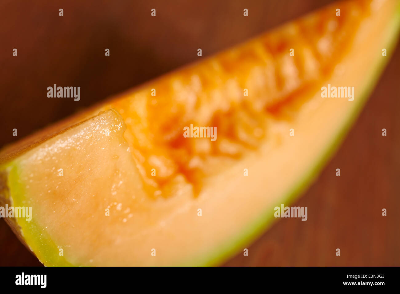 Tranche de melon Photo Stock