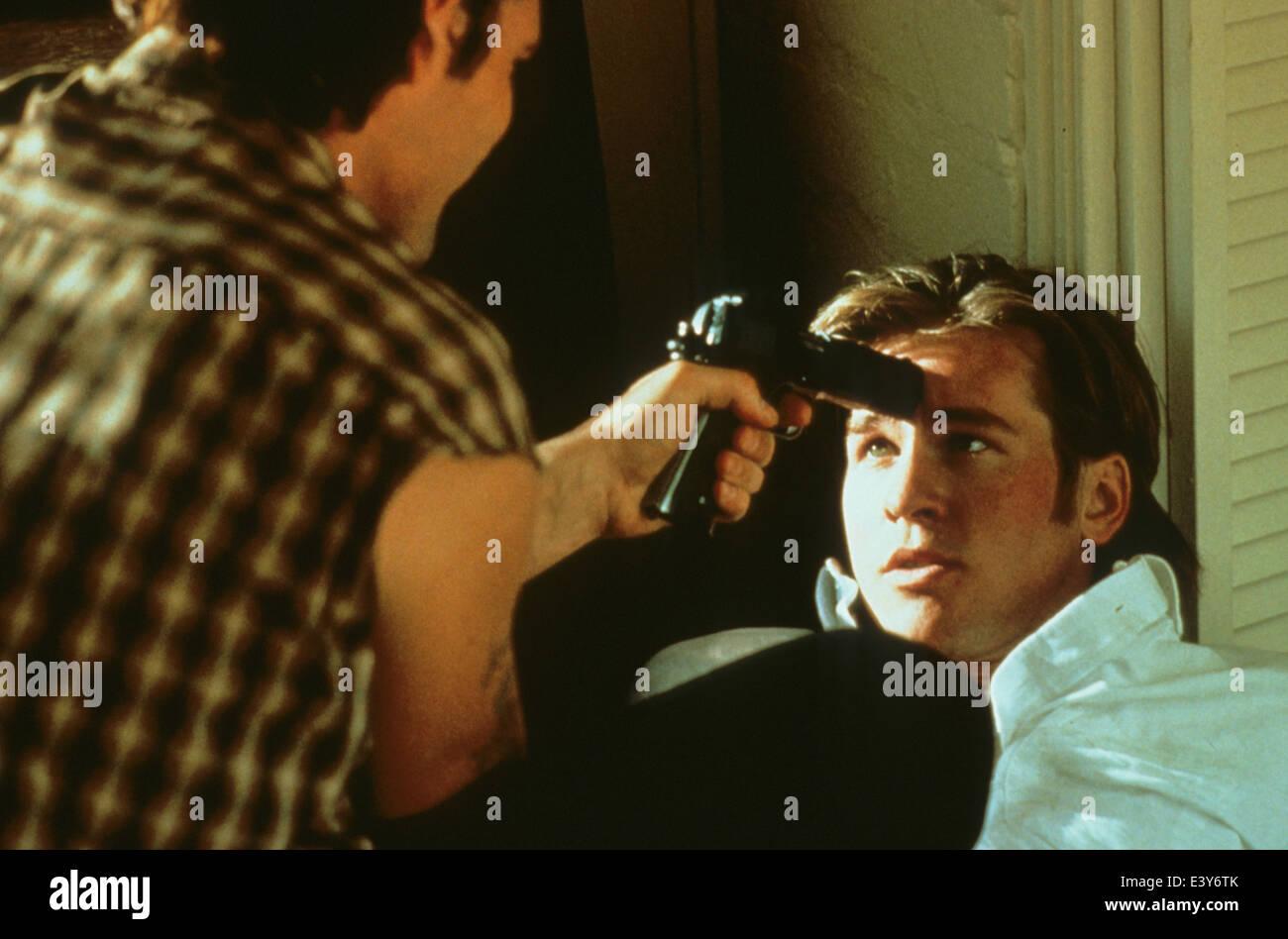 ME TUER ENCORE UNE FOIS la production des films de propagande 1989 avec Val Kilmer Photo Stock