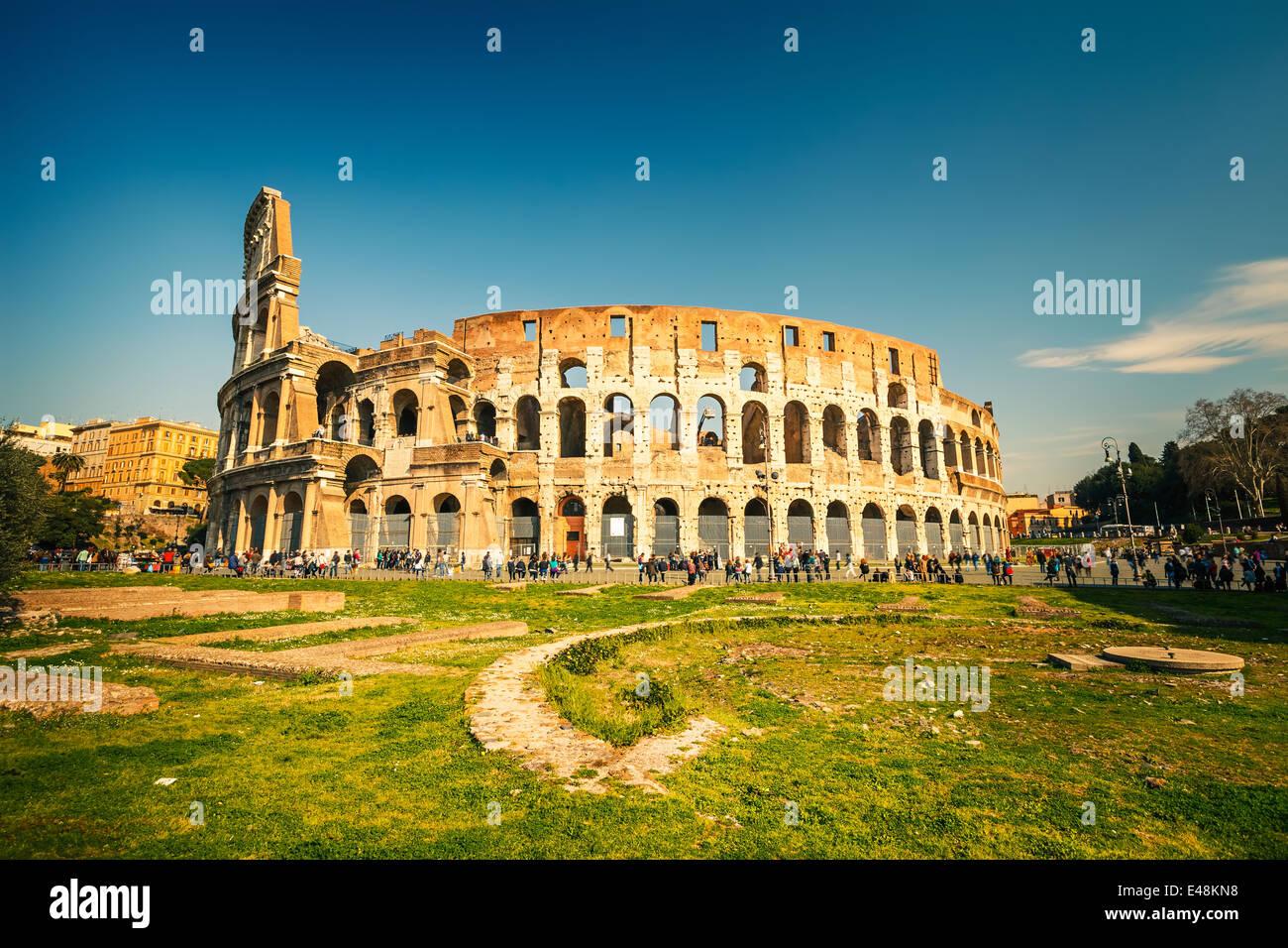 Colisée de Rome Photo Stock