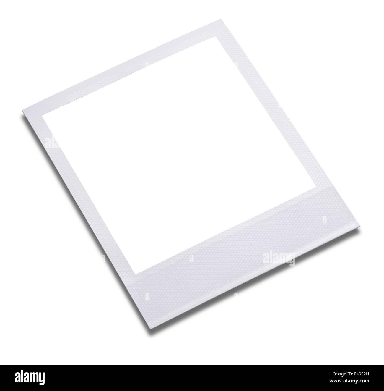 Imprimer cadre photo Blanc Photo Stock