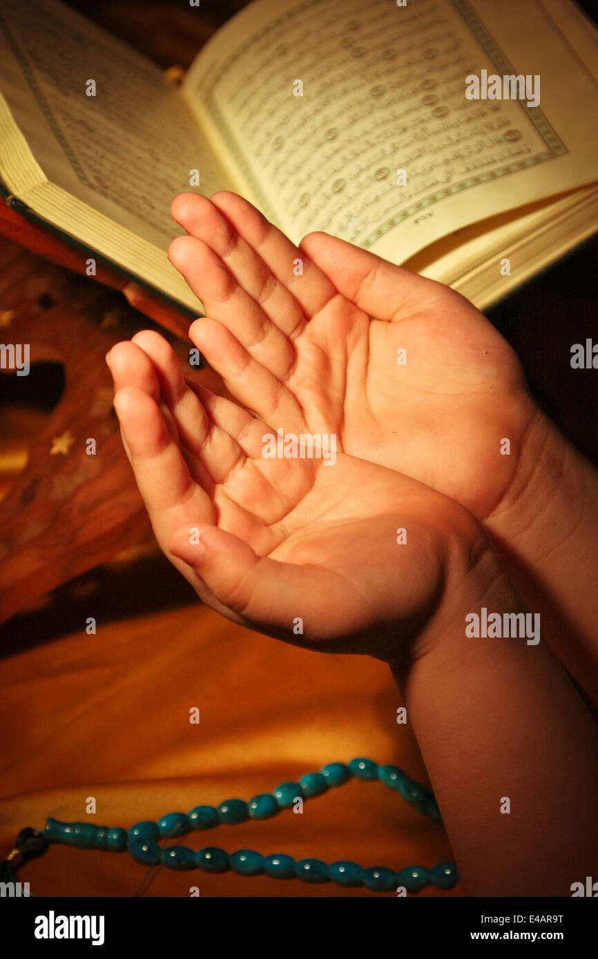 L'adoration des Photo Stock