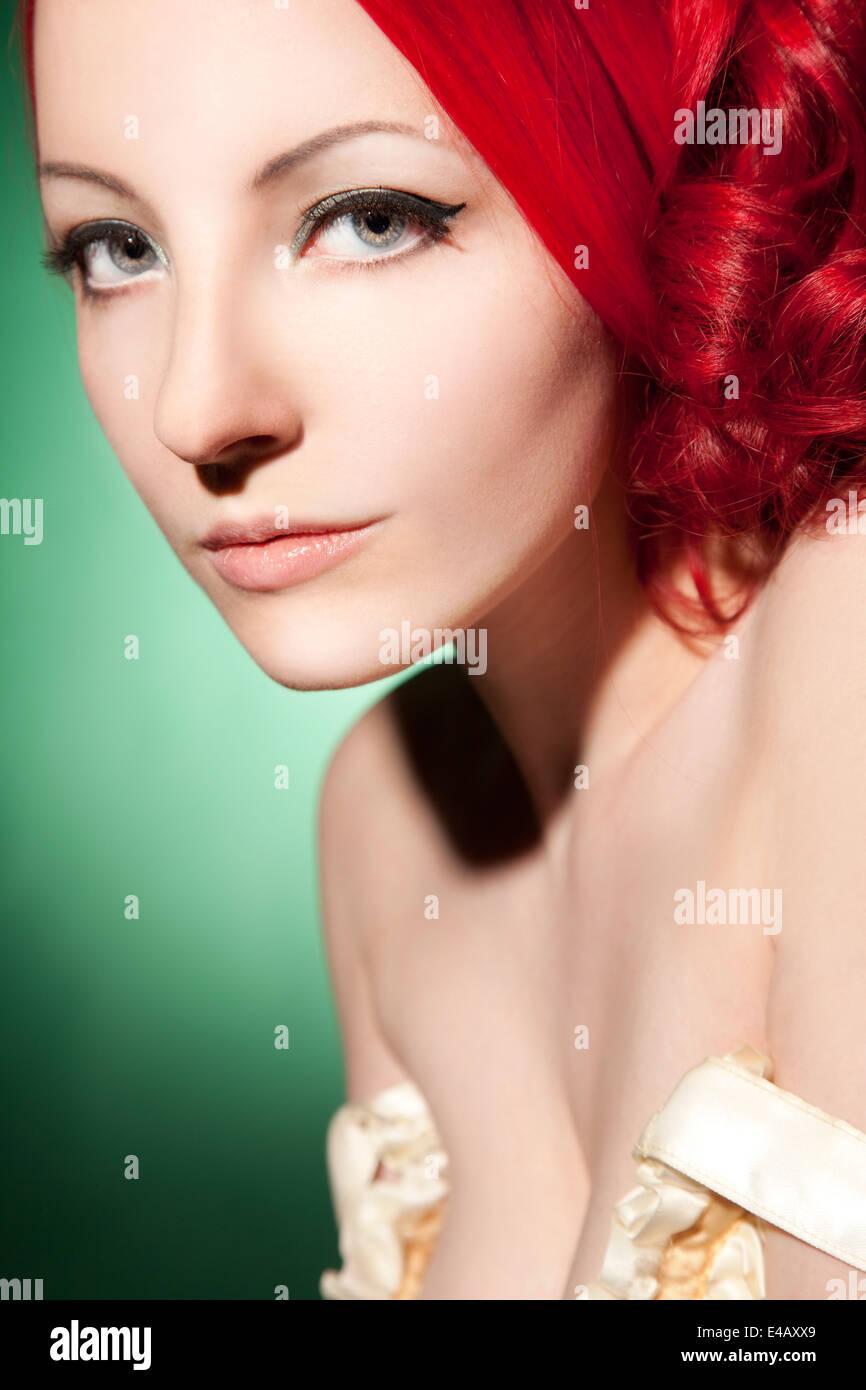 Belle, élégante femme Photo Stock