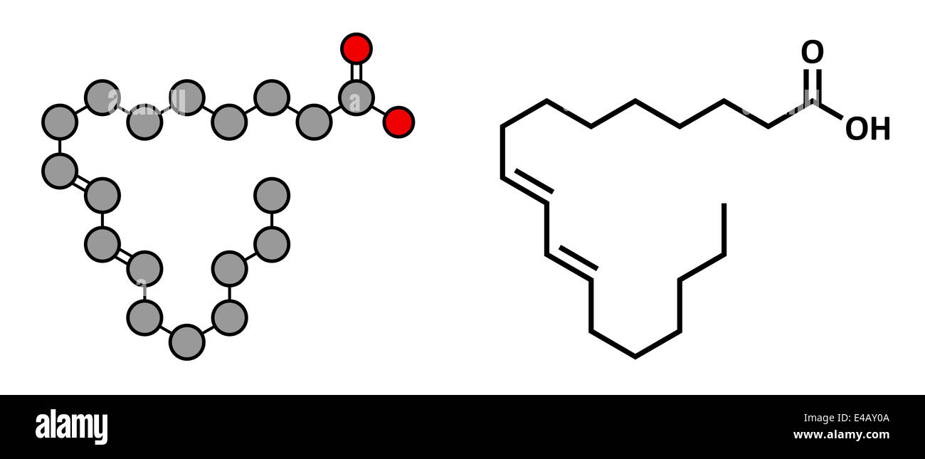 Rumenic Bovinic Acide Acide L Acide Linoleique Conjugue Alc Molecule D Acide Gras Photo Stock Alamy