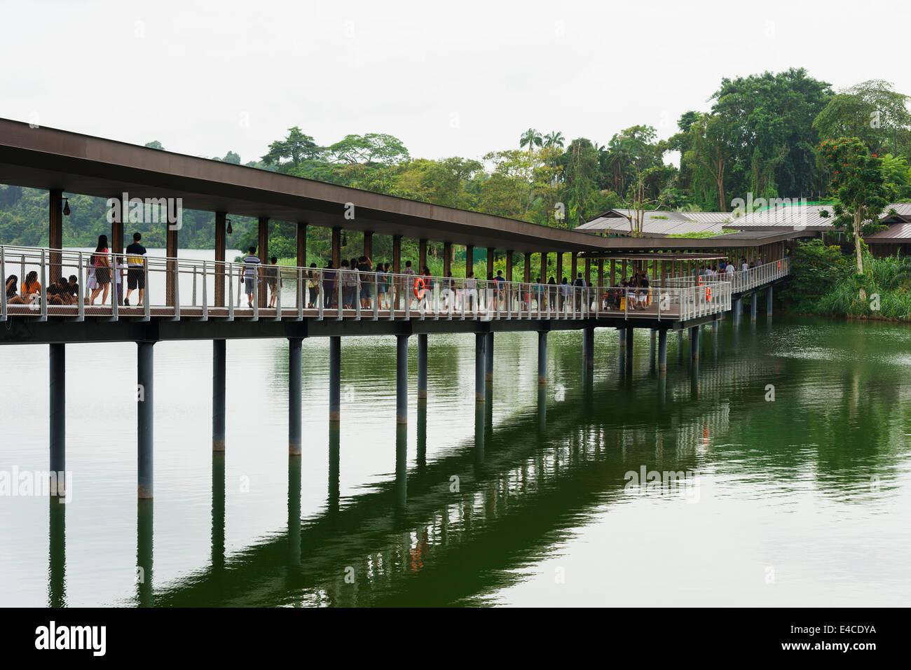 L'Asie du Sud Est, Singapour, Singapour, zoo River Safari Photo Stock