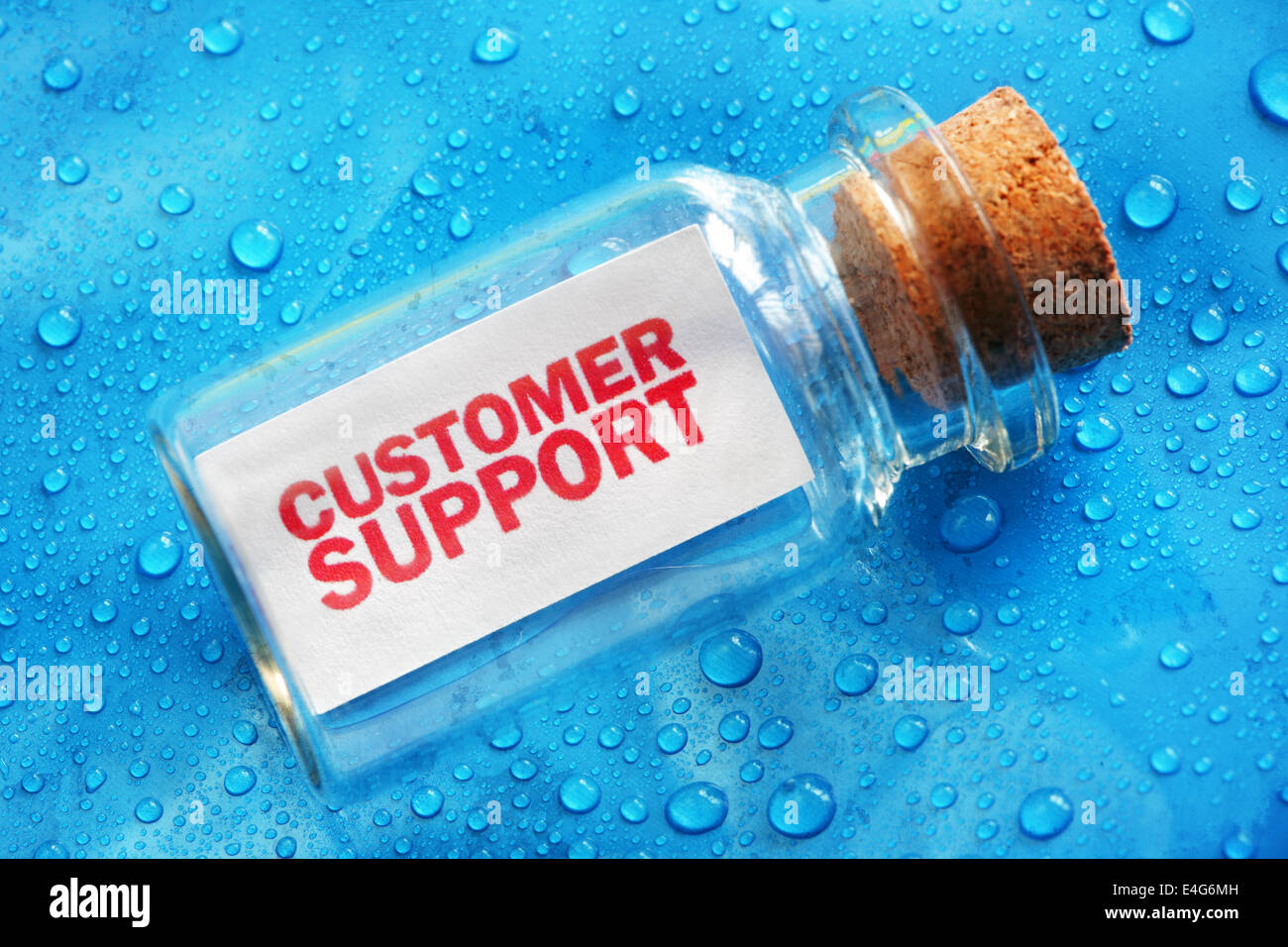 Support client Photo Stock