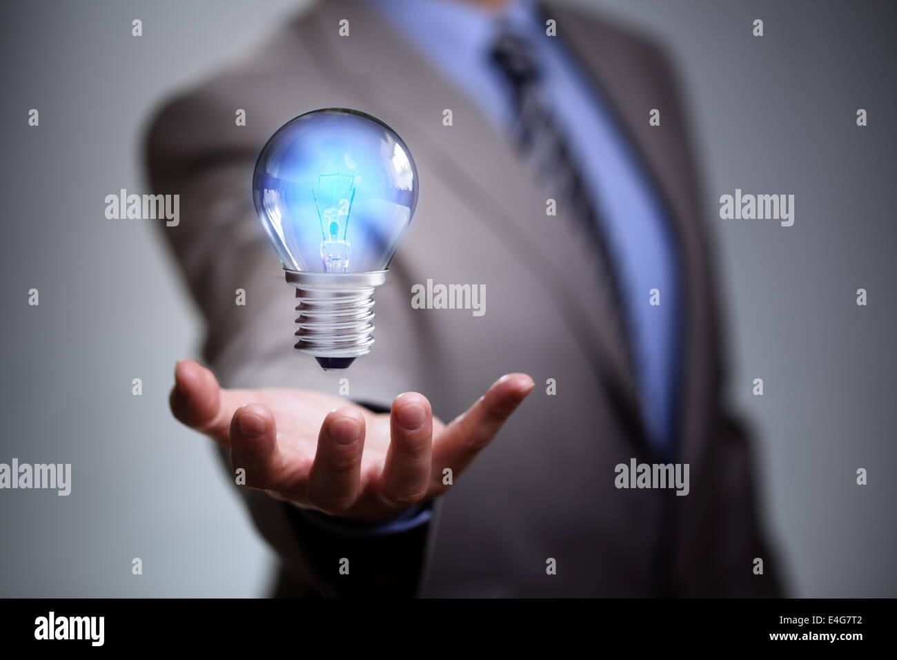 Idée d'entreprise Photo Stock