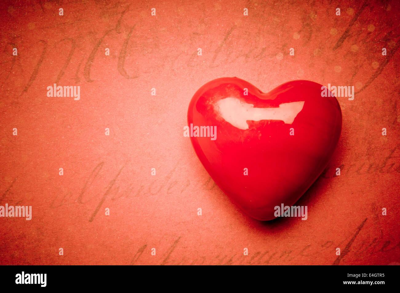Forme de coeur, l'amour concept Photo Stock