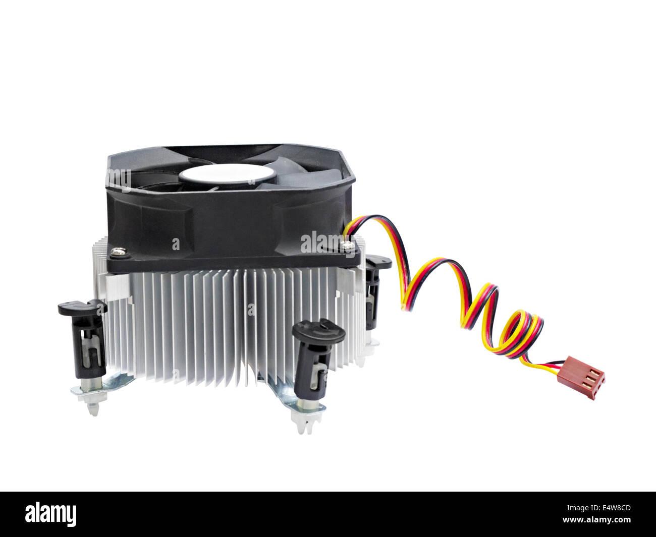 Refroidisseur pour CPU Photo Stock