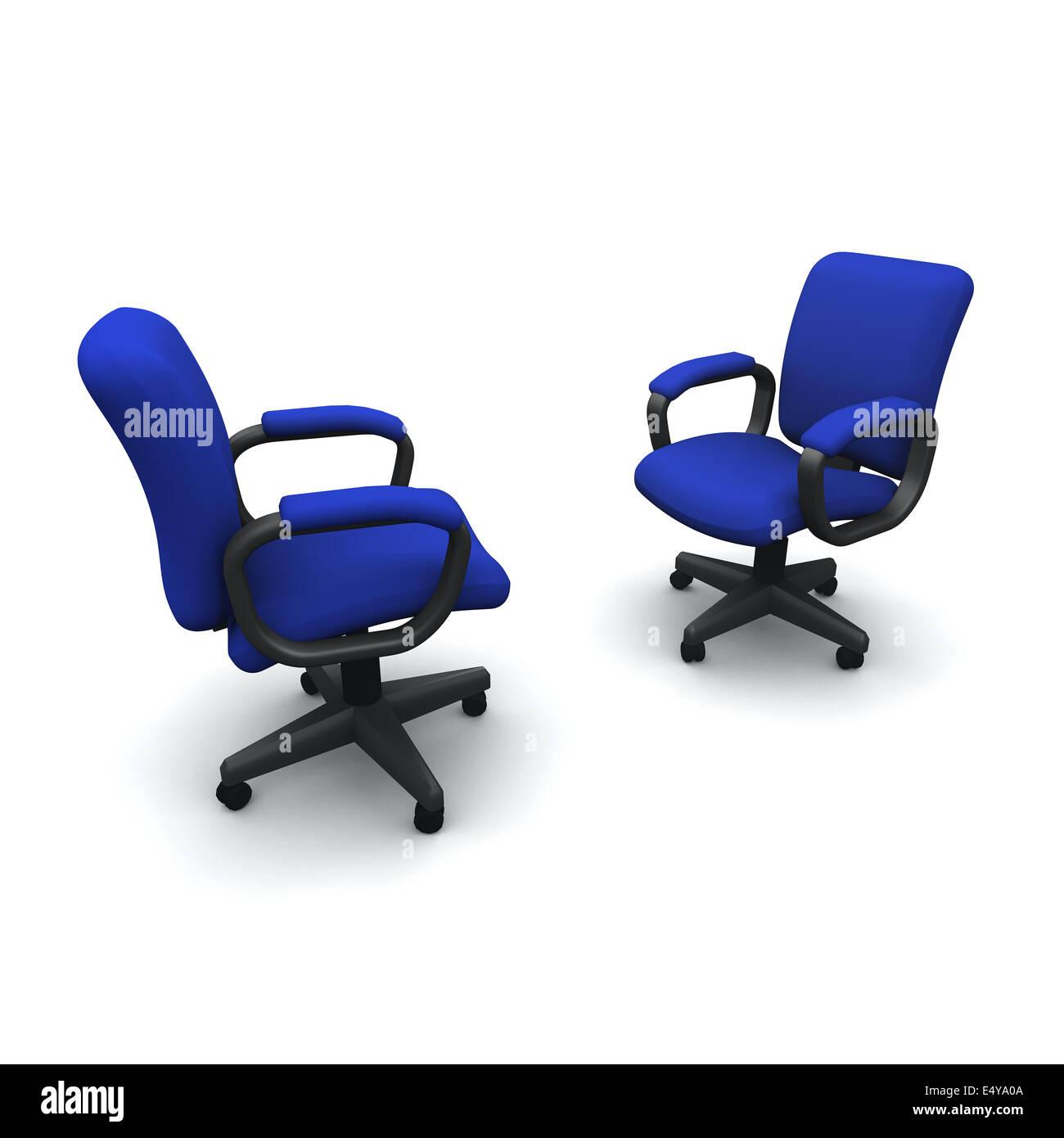 L'autre Render Jl35r4aq Face Banque Deux Bureau Chaises D 3d De Of En tshQrCxd