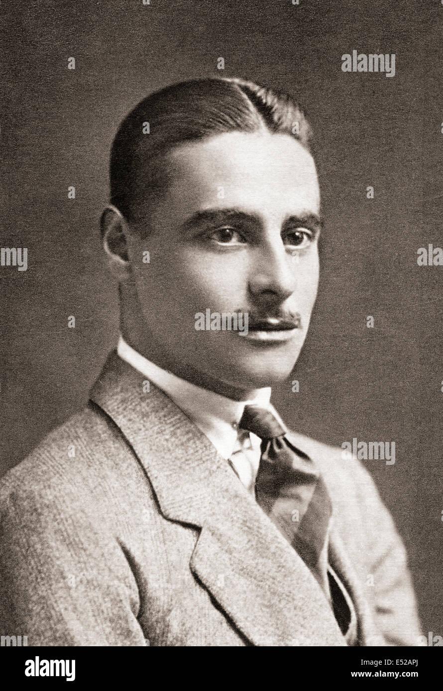L'honorable Arnold Erasmus Colwyn Philips, 1888-1915. Capitaine dans la Royal Horse Guards et poète de Photo Stock