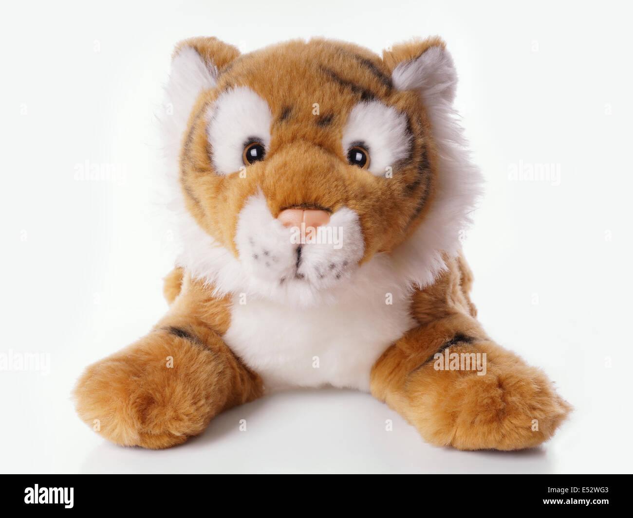 Tigre en peluche Photo Stock