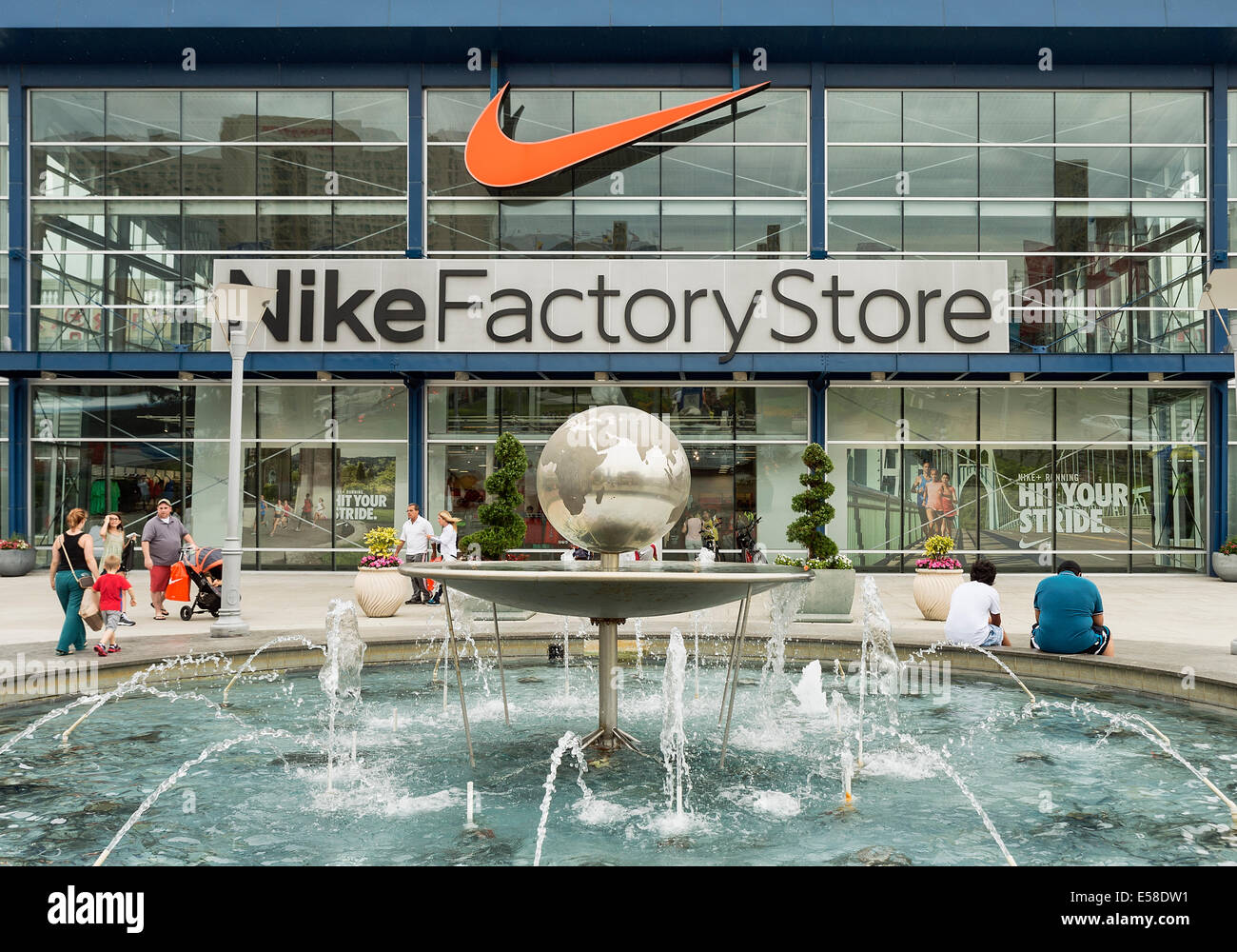 Magasin Nike factory outlet, Atlantic City, New Jersey, USA