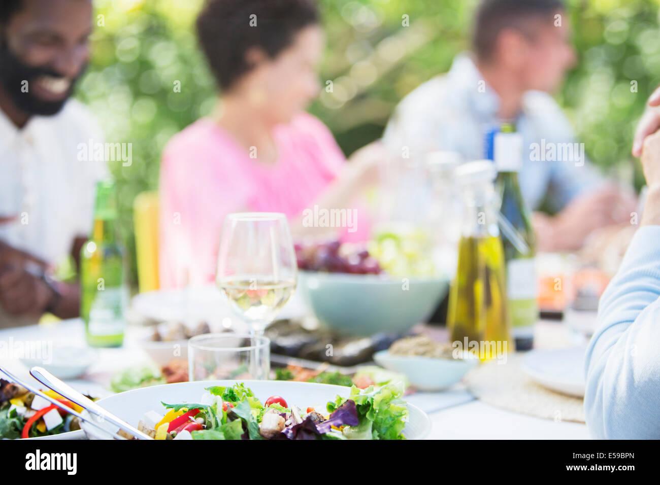 Plaques de table en plein air Photo Stock