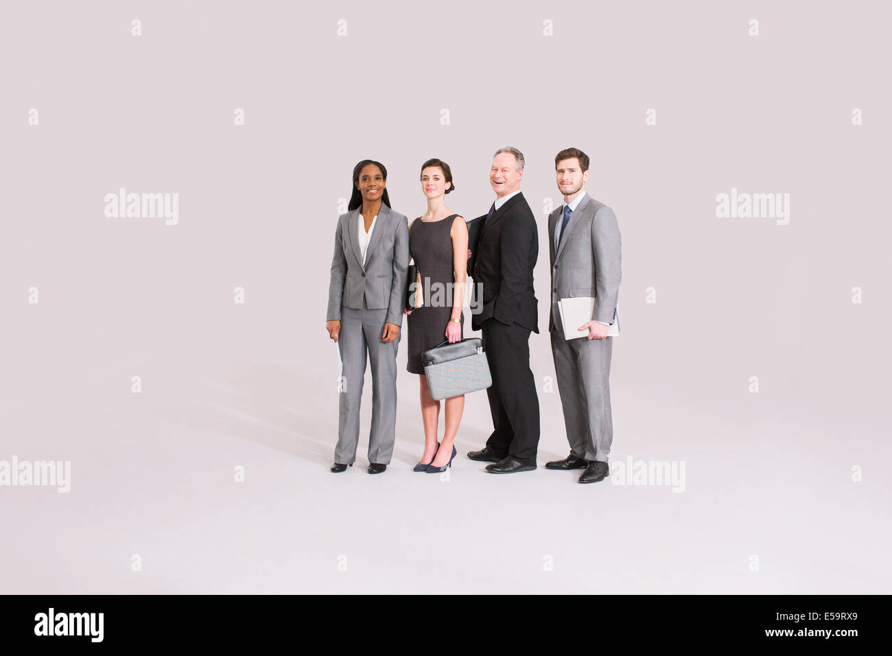 Portrait of business people Photo Stock