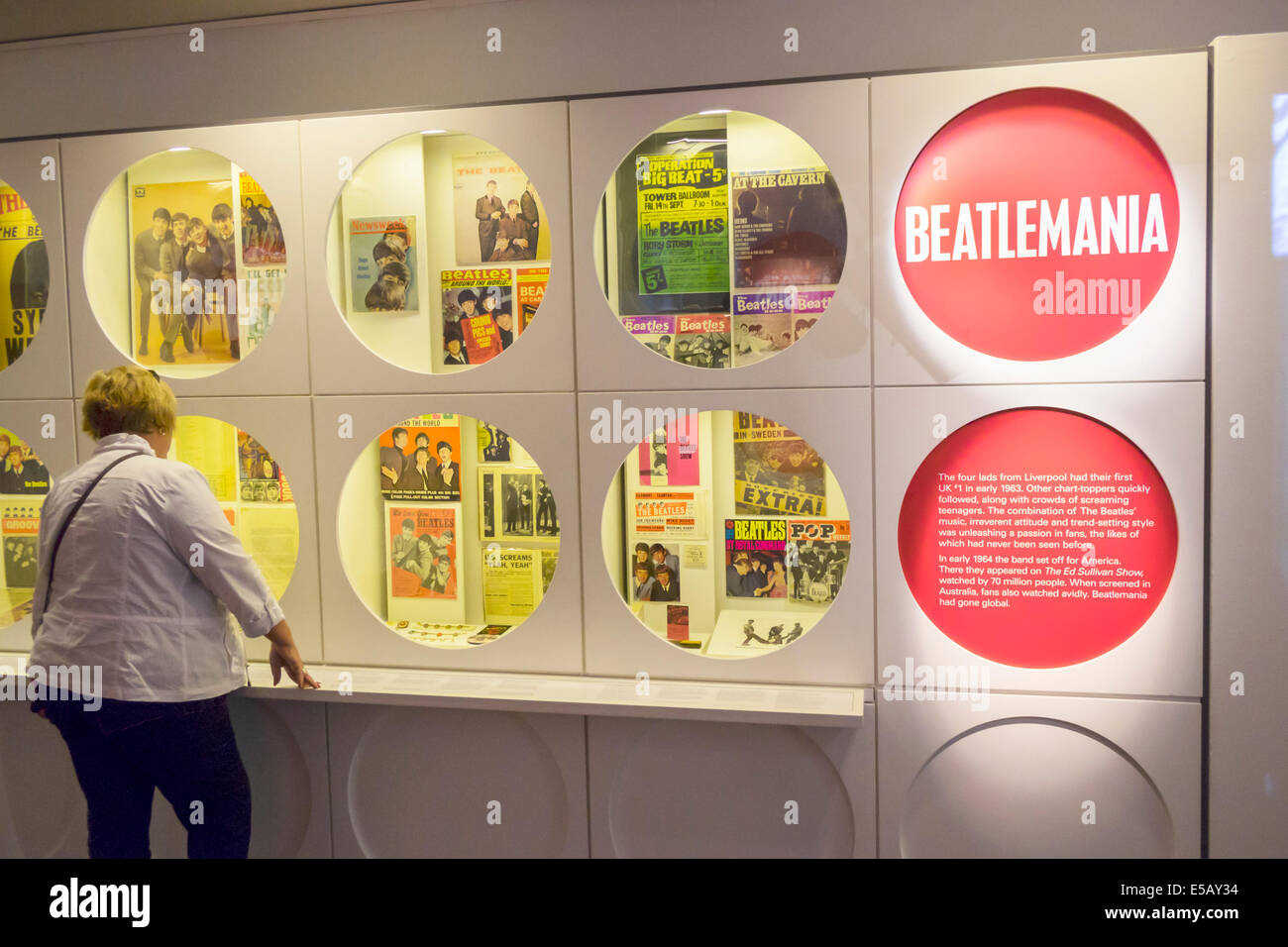 Southbank Melbourne Australie Victoria St Kilda Road Art Center center State Theatre Theatre Beatles en Australie Photo Stock