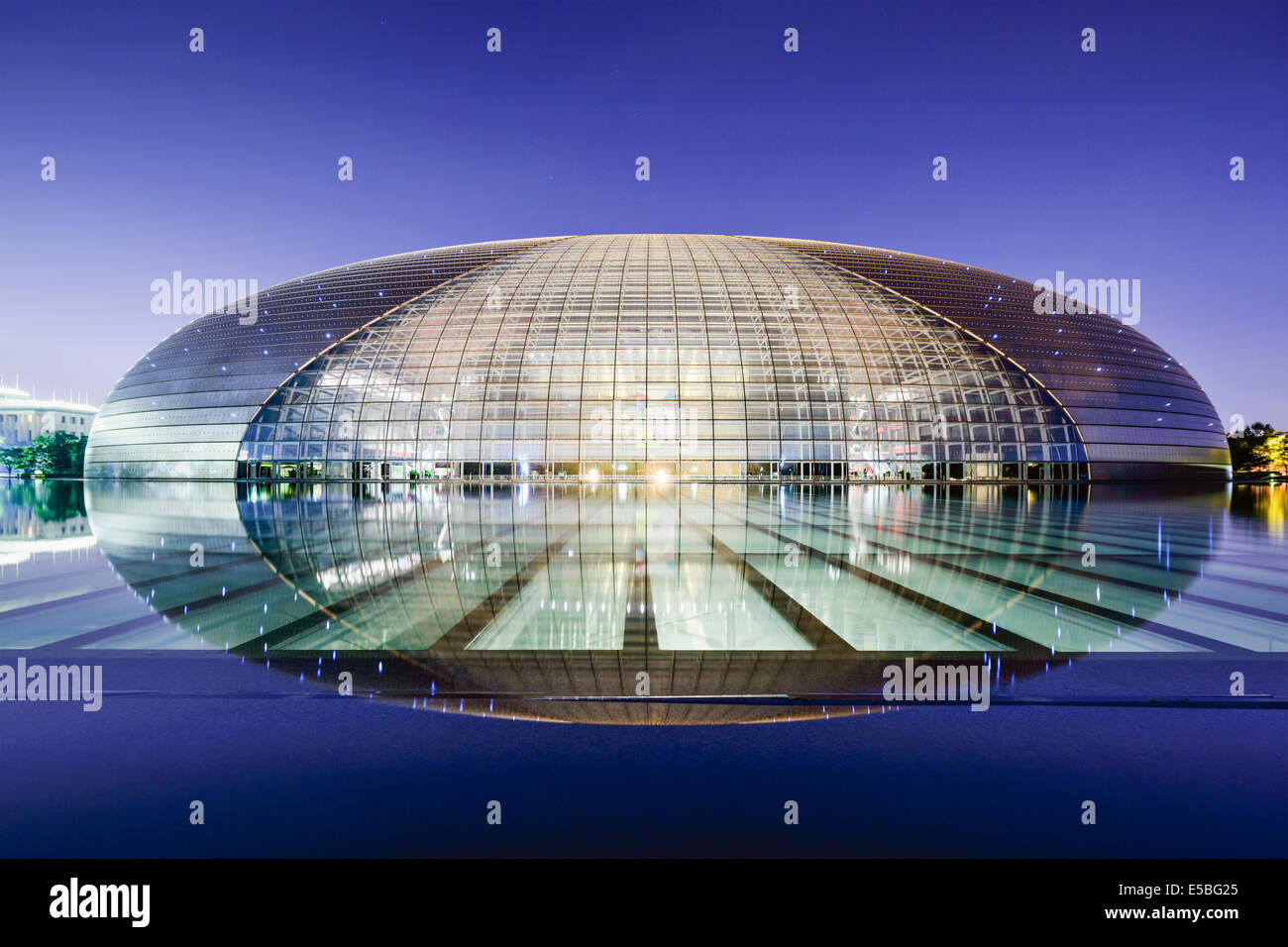 National Centre for the Performing Arts à Beijing, Chine. Photo Stock