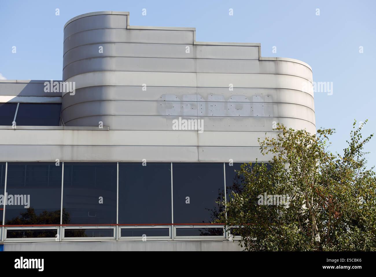Le centre-ville fermé cinéma Odéon Suffolk Ipswich UK Photo Stock