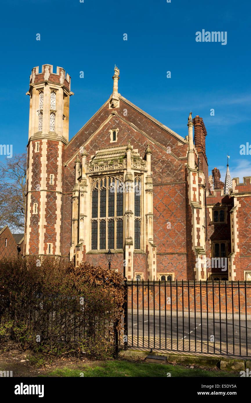 La bibliothèque au Lincoln's Inn. L'Honorable Société de Lincoln's Inn est l'un des Photo Stock