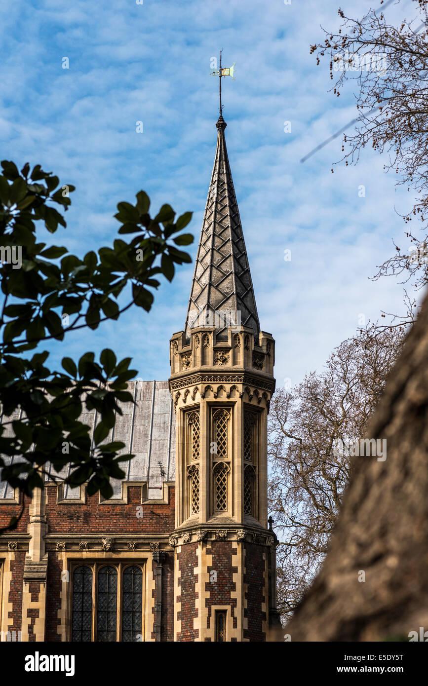 L'Honorable Société de Lincoln's Inn est l'un des quatre Inns of Court de Londres à laquelle Photo Stock