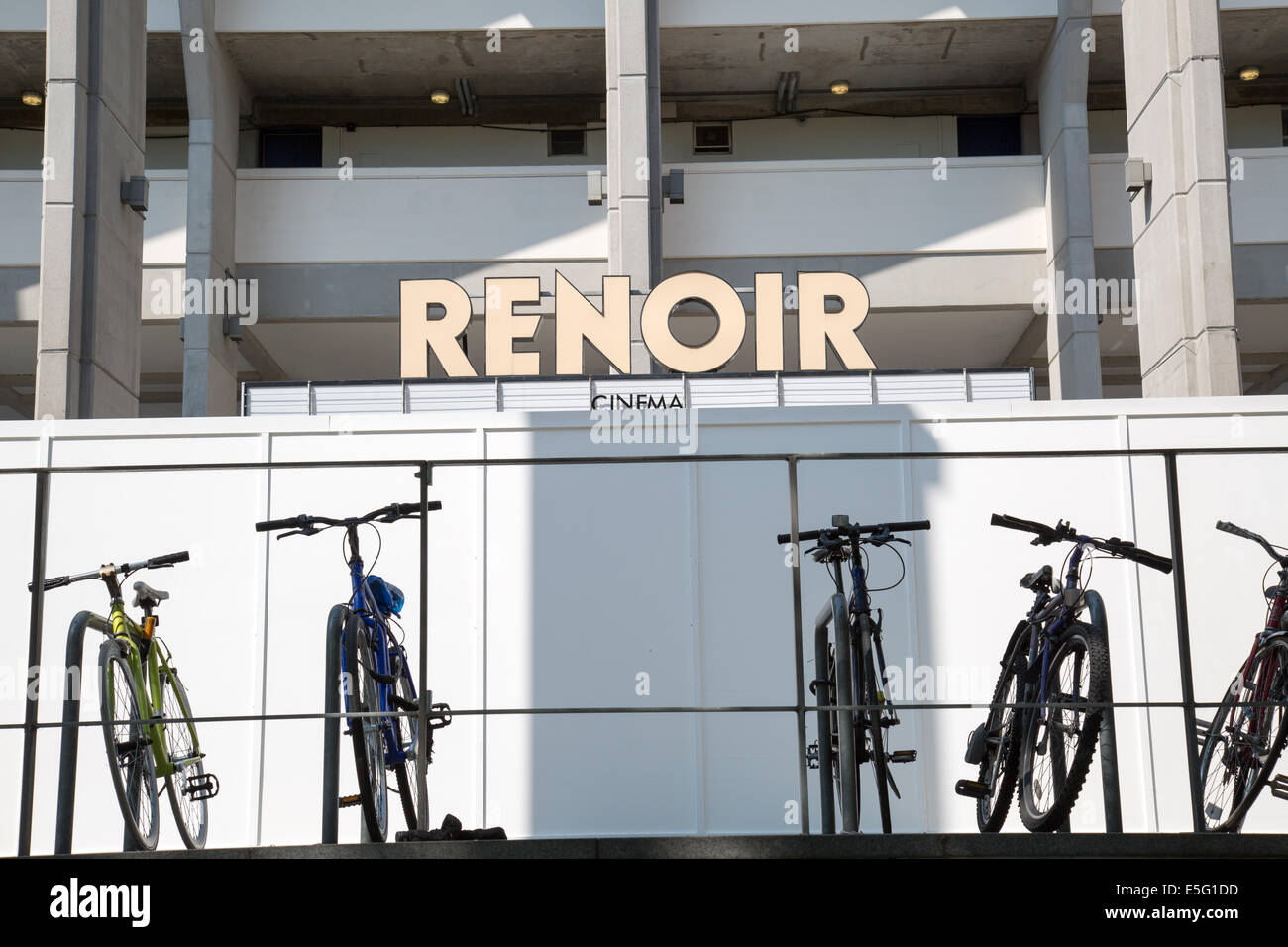 Cinéma Renoir Londres Photo Stock