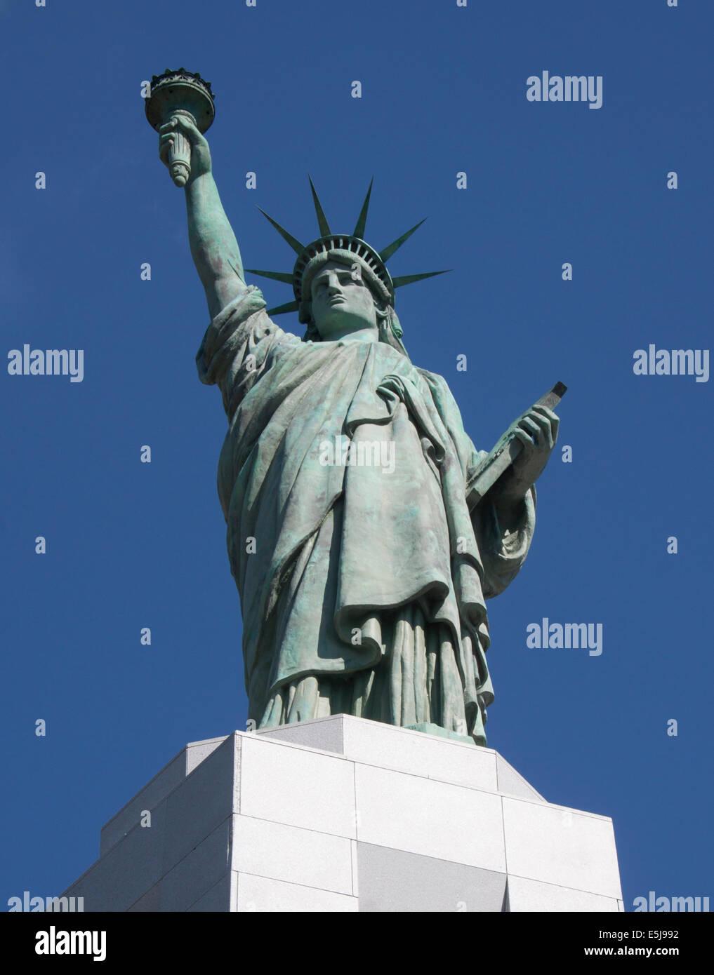 Statue de la liberté à Birmingham en Alabama Banque D'Images