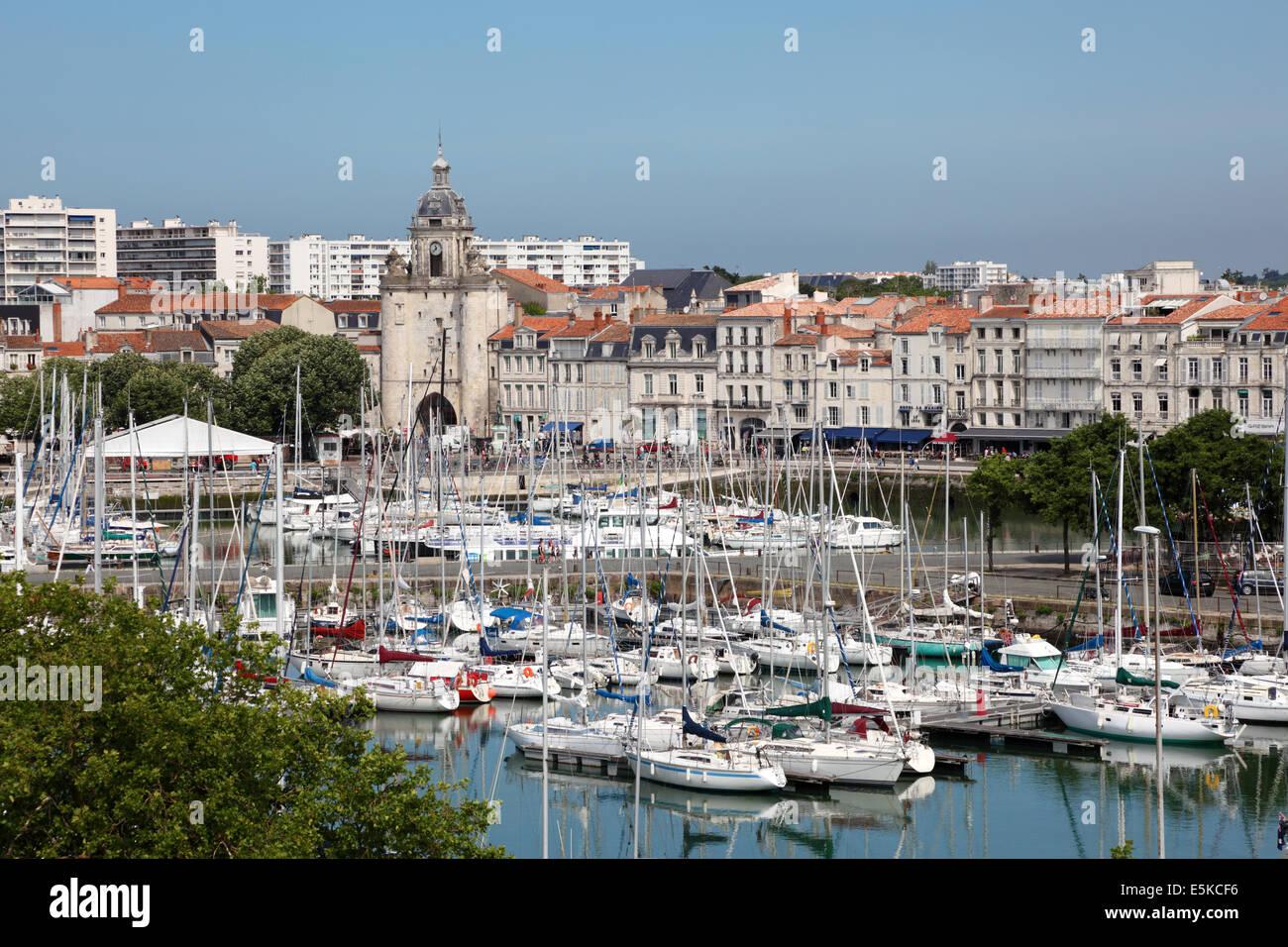 Port de plaisance de la rochelle charente maritime france banque d 39 images photo stock - Restaurant la rochelle port ...