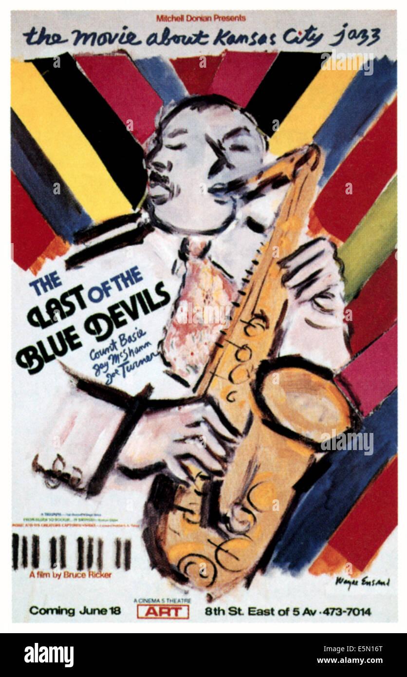 La dernière des Blue Devils, 1980 Photo Stock
