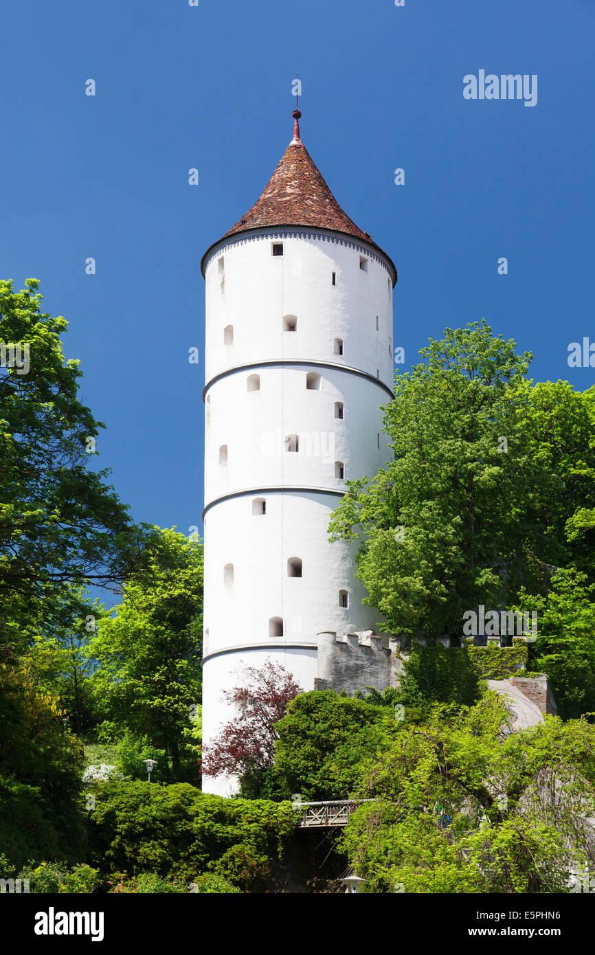 Gigelturm Tower, Biberach an der Riss, en Haute Souabe, Bade Wurtemberg, Allemagne, Europe Banque D'Images