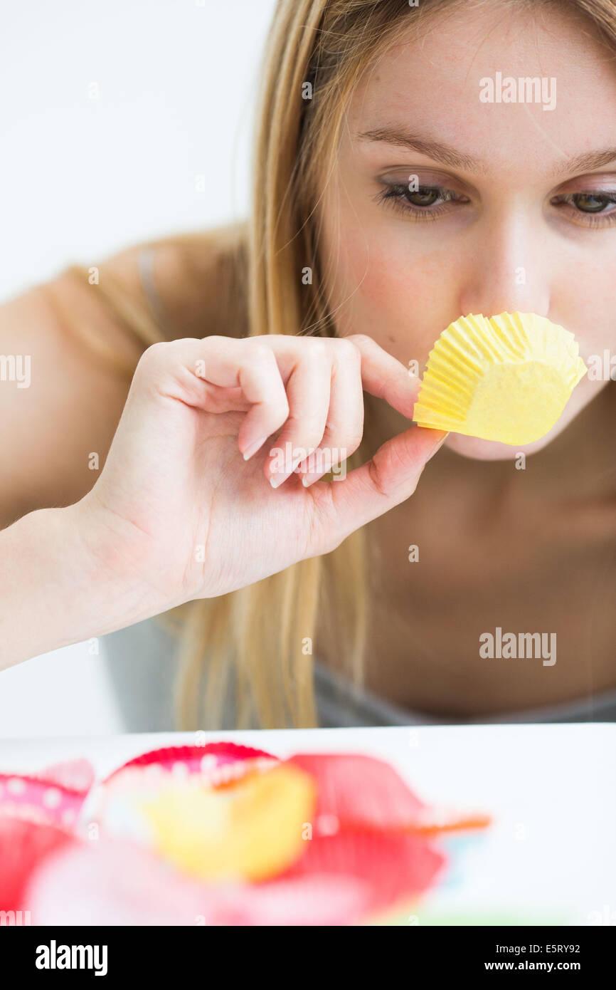 Concept de snacking. Photo Stock