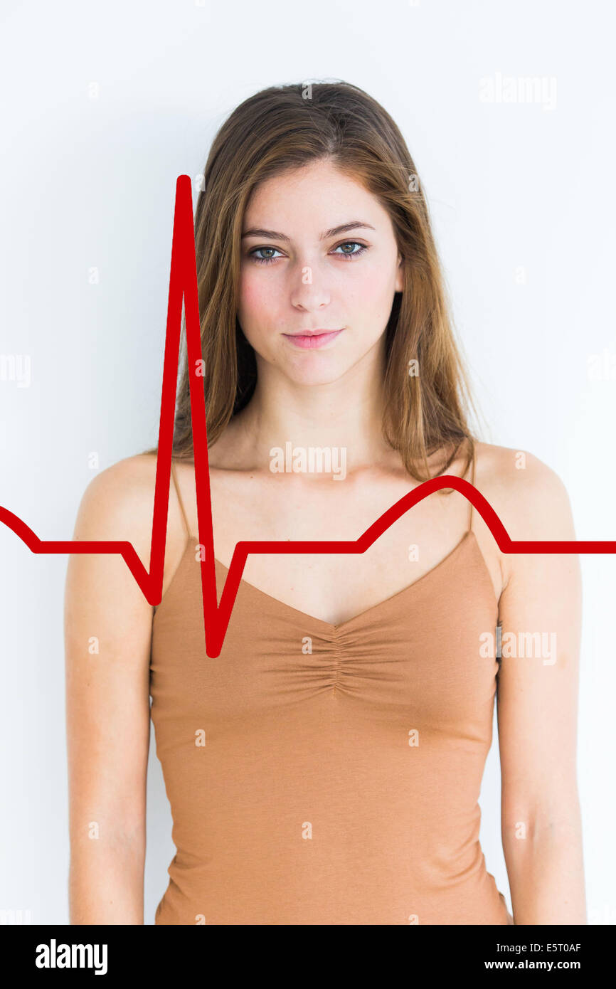 Concept de la cardiologie. Photo Stock