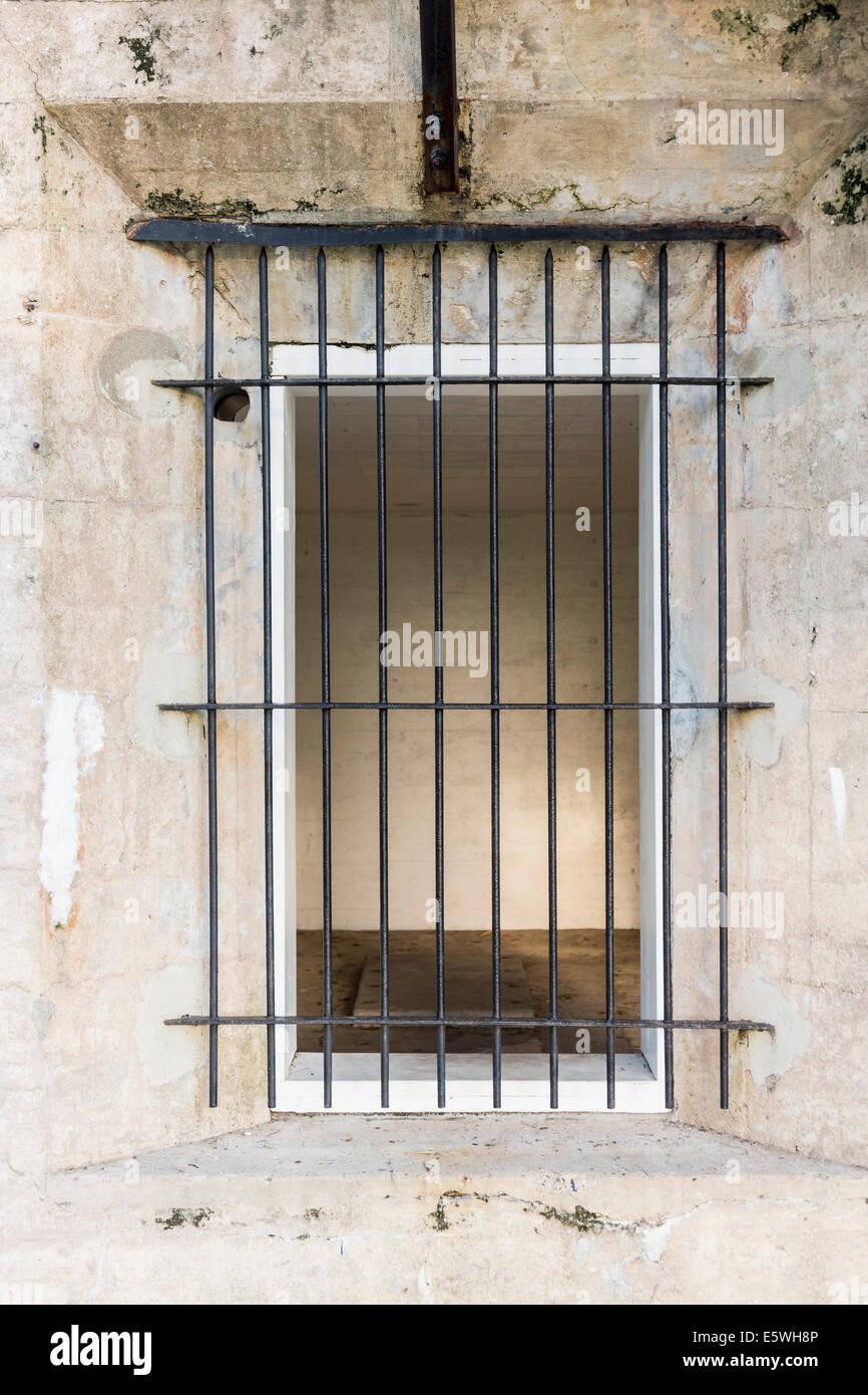 Ancienne cellule de prison Photo Stock