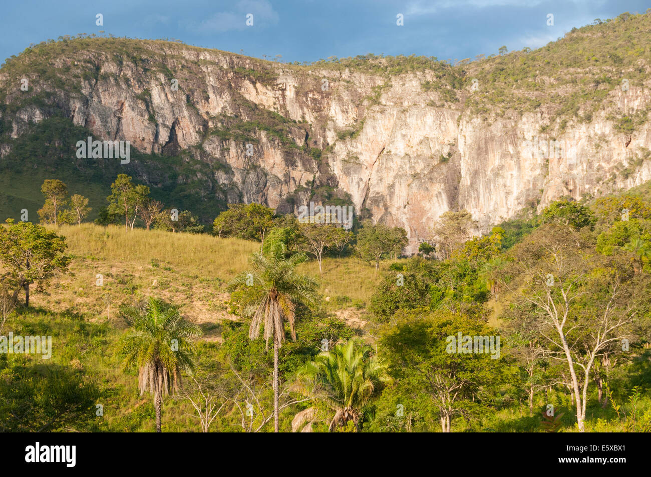 Beau paysage près de Alto Paraiso , État de Goiás Brésil Photo Stock