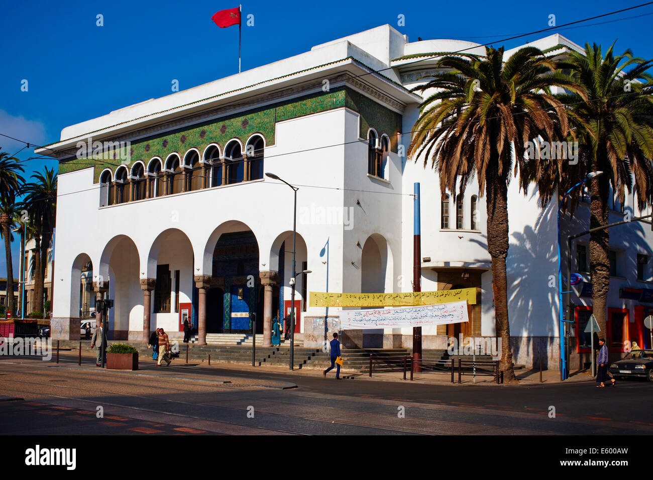 post office casablanca photos post office casablanca images alamy. Black Bedroom Furniture Sets. Home Design Ideas