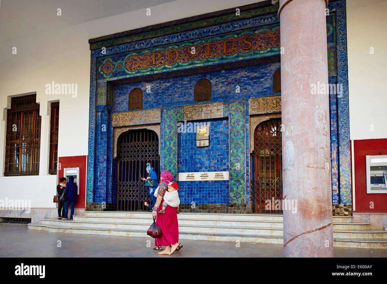 Maroc casablanca bureau de poste adrien laforgue