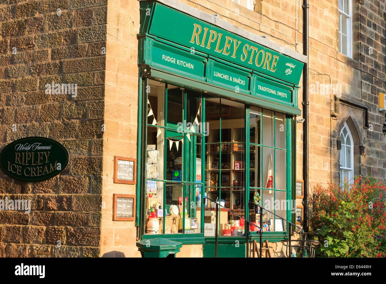 Magasin Ripley Ripley Harrogate North Yorkshire Angleterre Photo Stock
