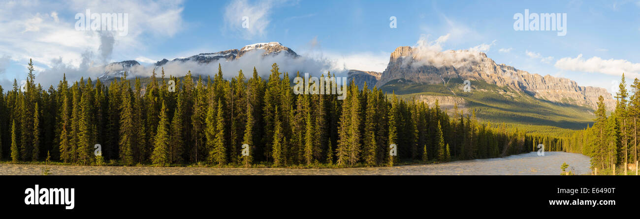 Les montagnes Rocheuses, Banff National Park, Alberta, Canada Photo Stock