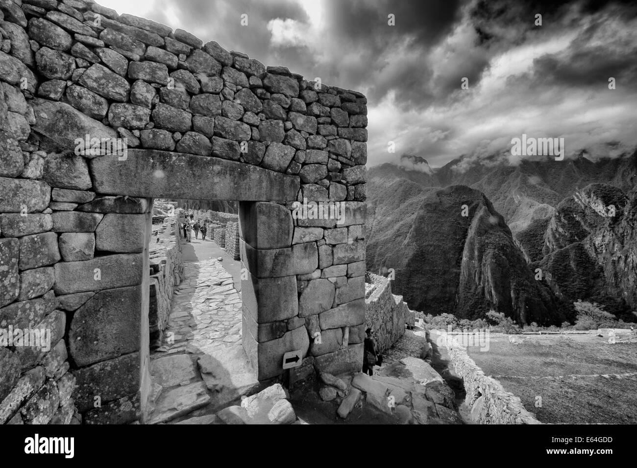 Machu Pichu, Pérou Photo Stock
