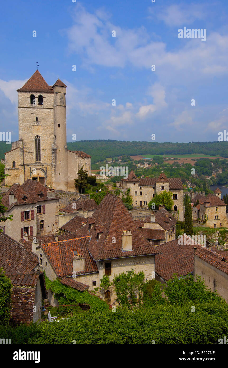 Architecte Paysagiste Midi Pyrénées paysage urbain, saint-cirq-lapopie, vallée du lot