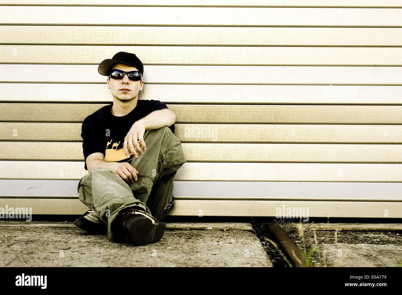 La culture des jeunes, des adolescents Photo Stock
