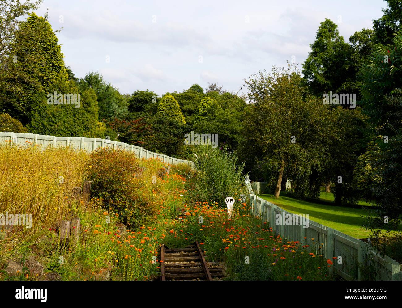 Golden Acre Park, Bramhope, près de Leeds, West Yorkshire, England UK Photo Stock