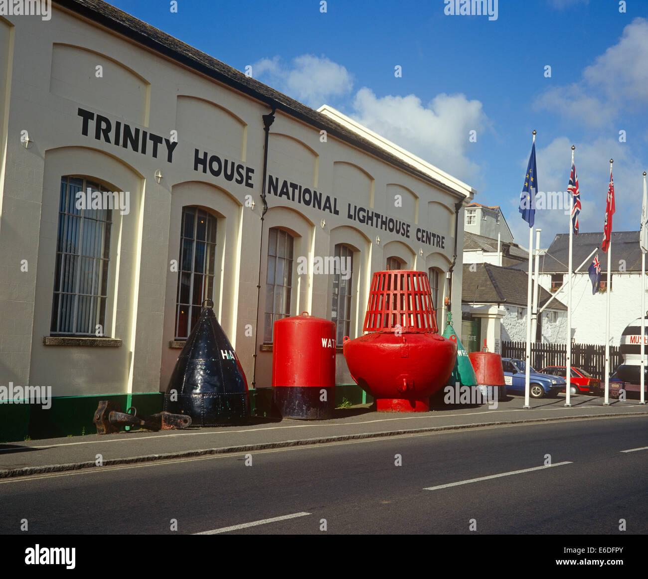 Trinity House Penzance Cornwall Centre Phare National UK Photo Stock
