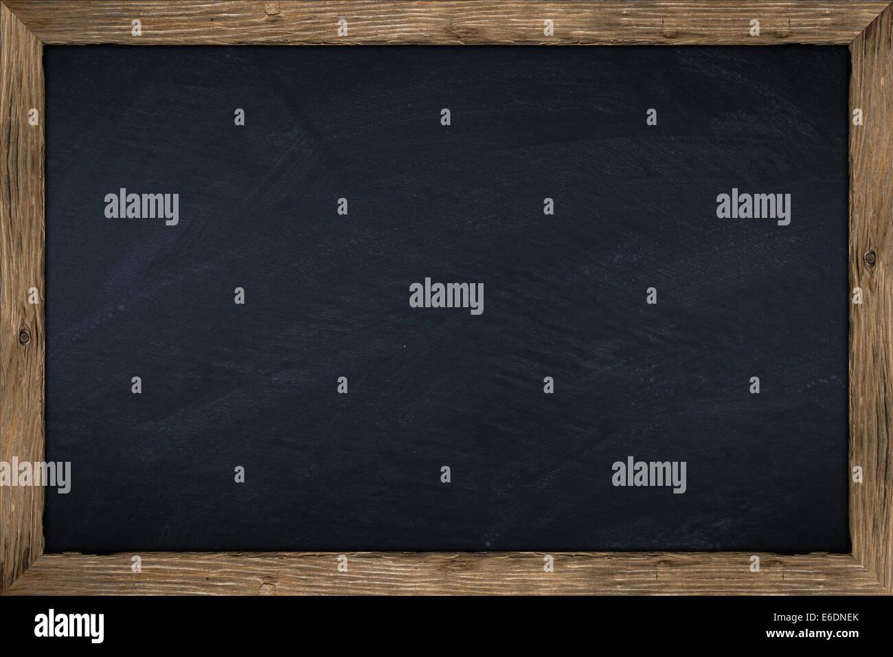 Tableau Vide Avec Cadre En Bois Photo Stock Alamy