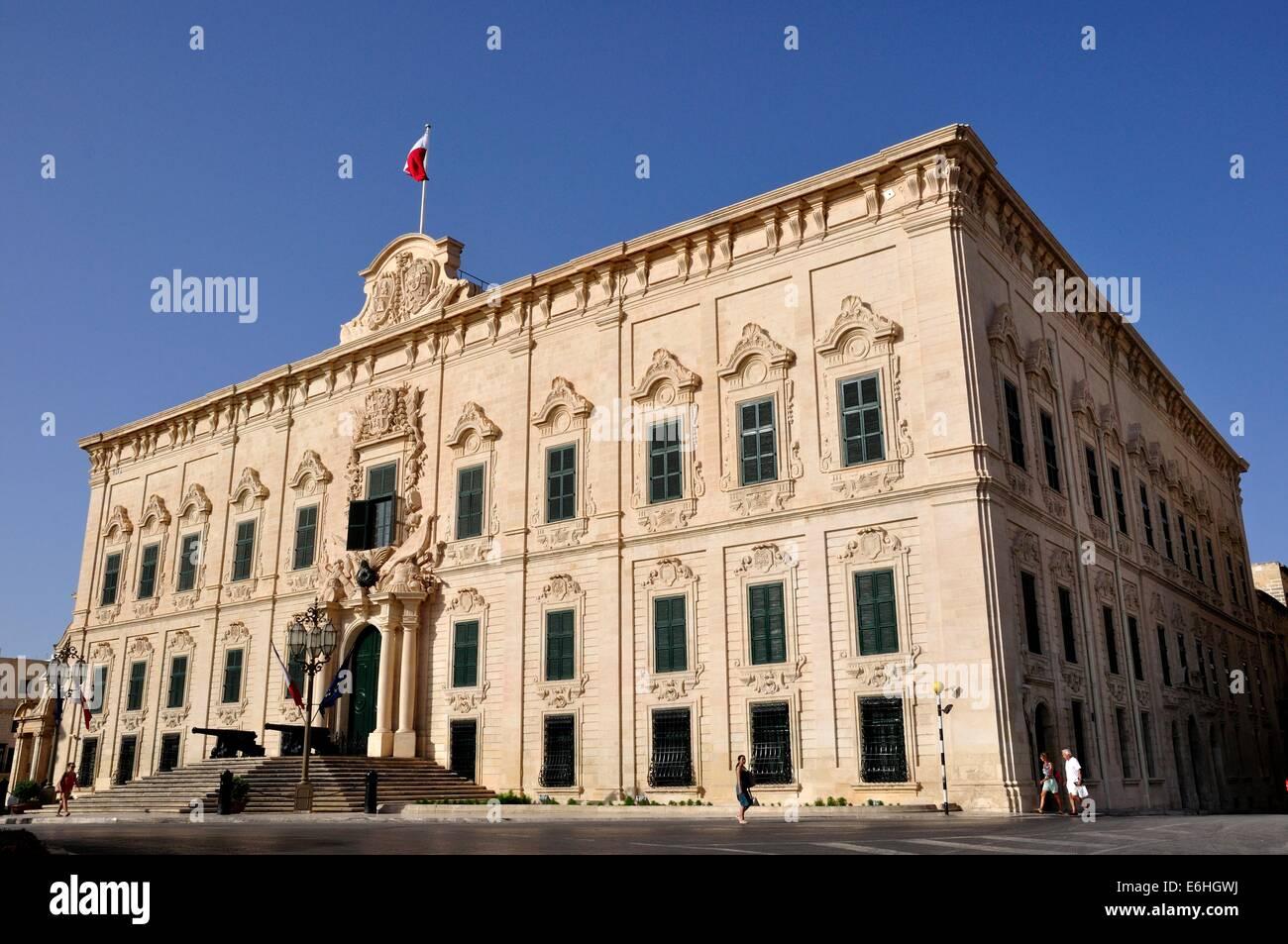 L'Auberge de Castille,La Valette,Malte, cabinet du Premier Ministre on