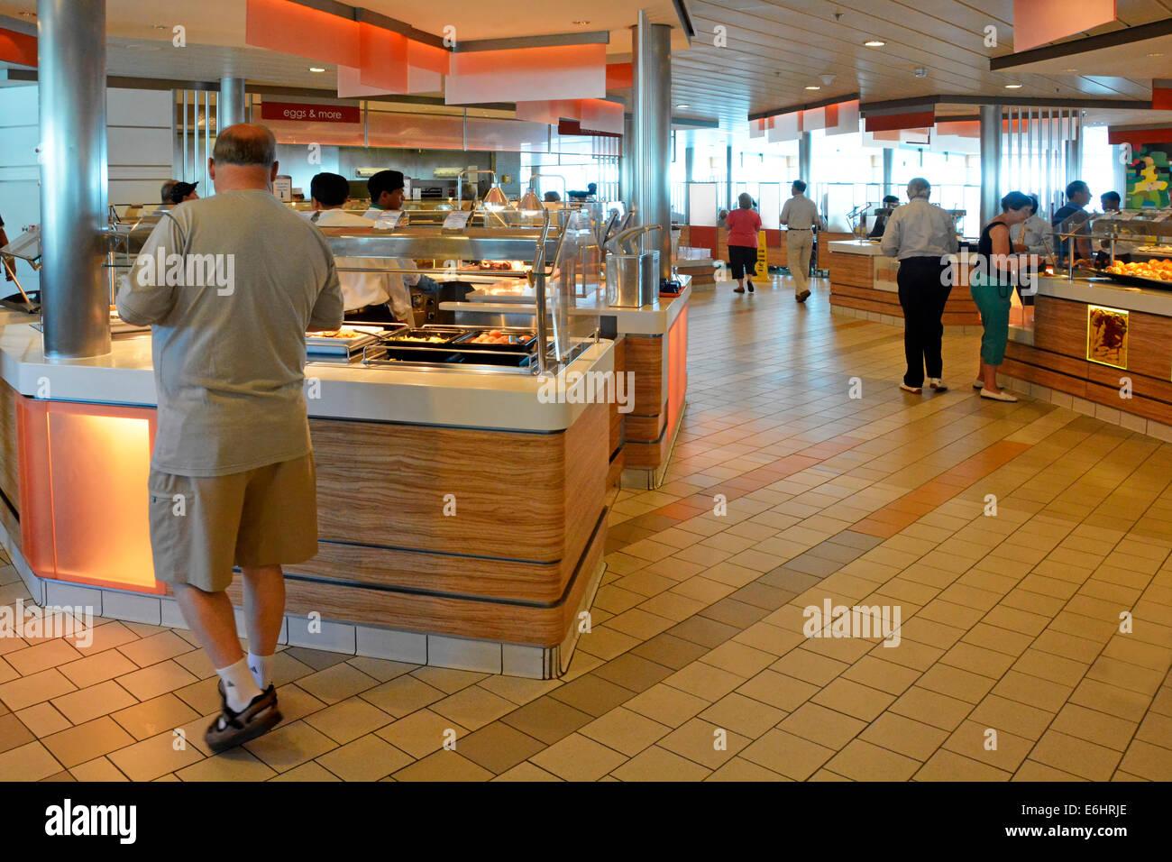 Cafeteria Avec Terrasse Petit Dejeuner Buffet Self Service Comptoirs