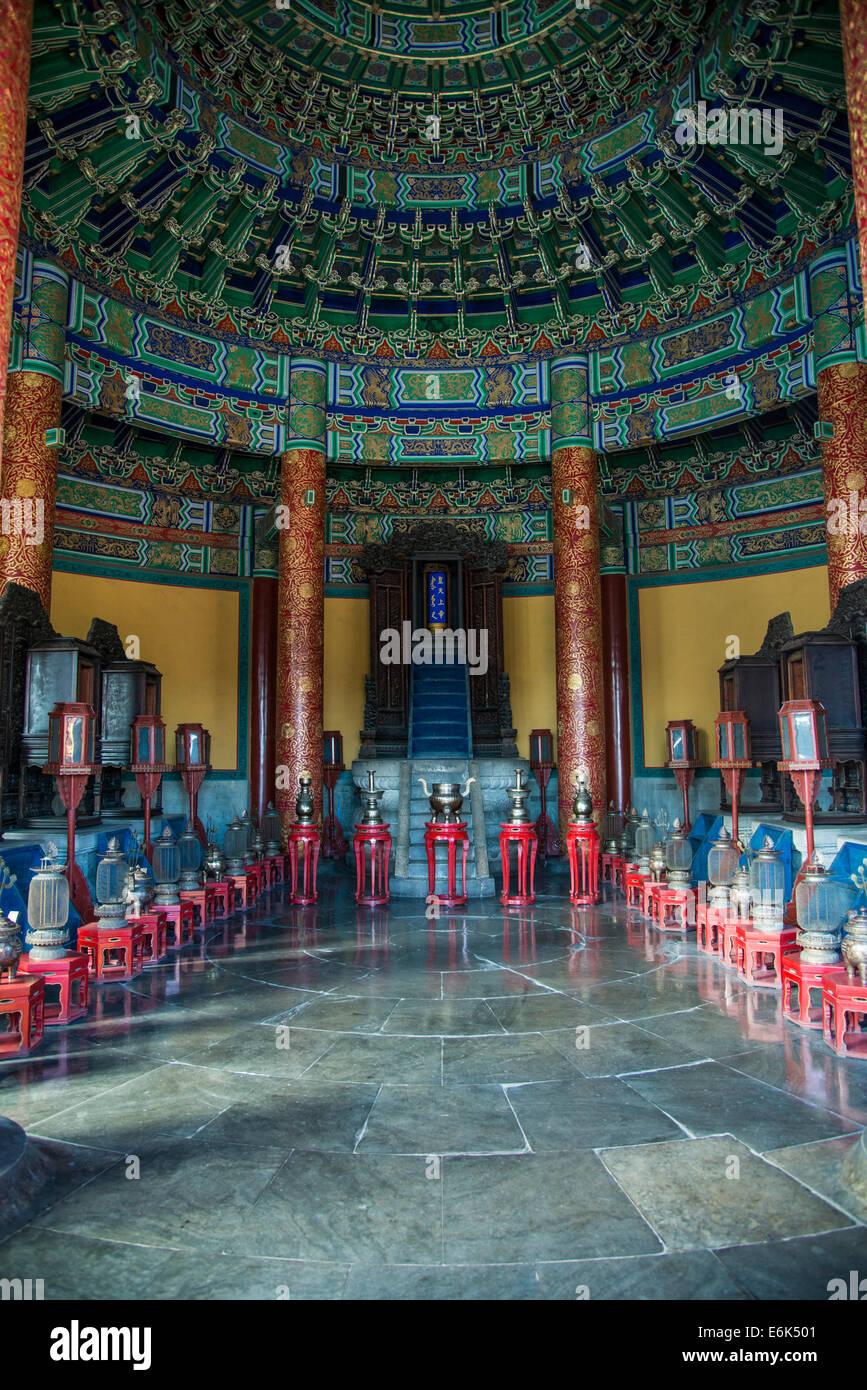 Temple du Ciel, Beijing, Chine Photo Stock