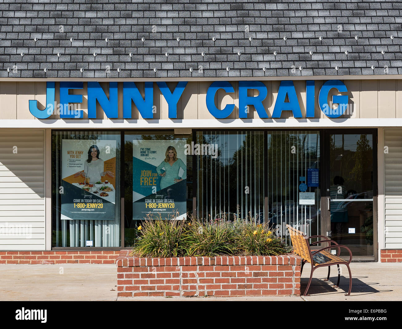 Situation de Jenny Craig, extérieur Mt. Laural, New Jersey, USA Photo Stock