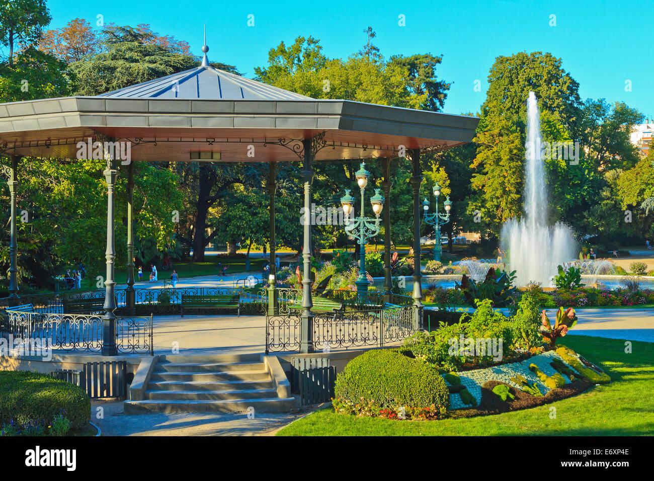 France, Toulouse, les jardins du Grand Rond Photo Stock