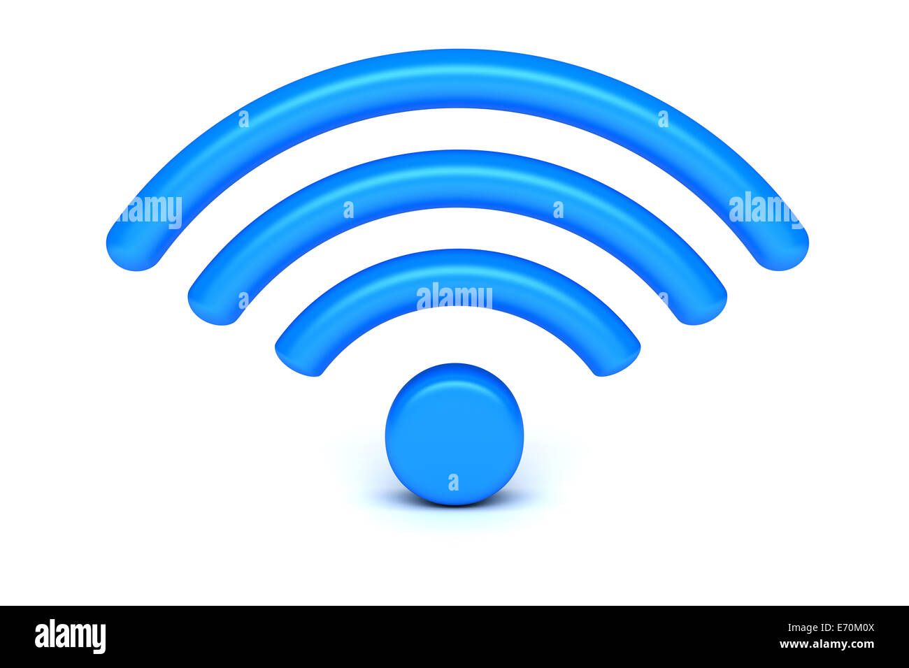 Symbole de WiFi Photo Stock