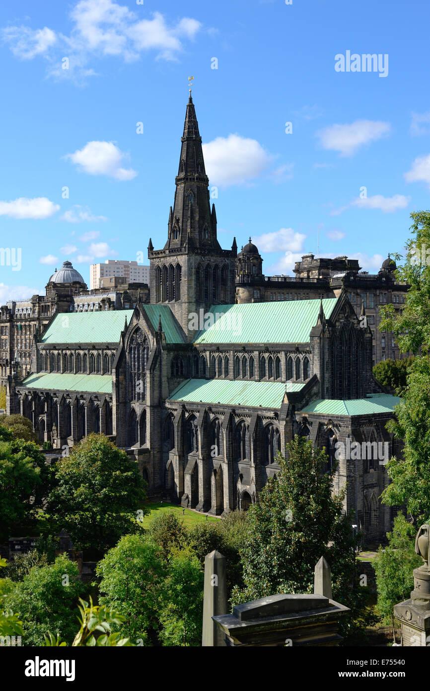 La cathédrale de Glasgow, Ecosse Banque D'Images