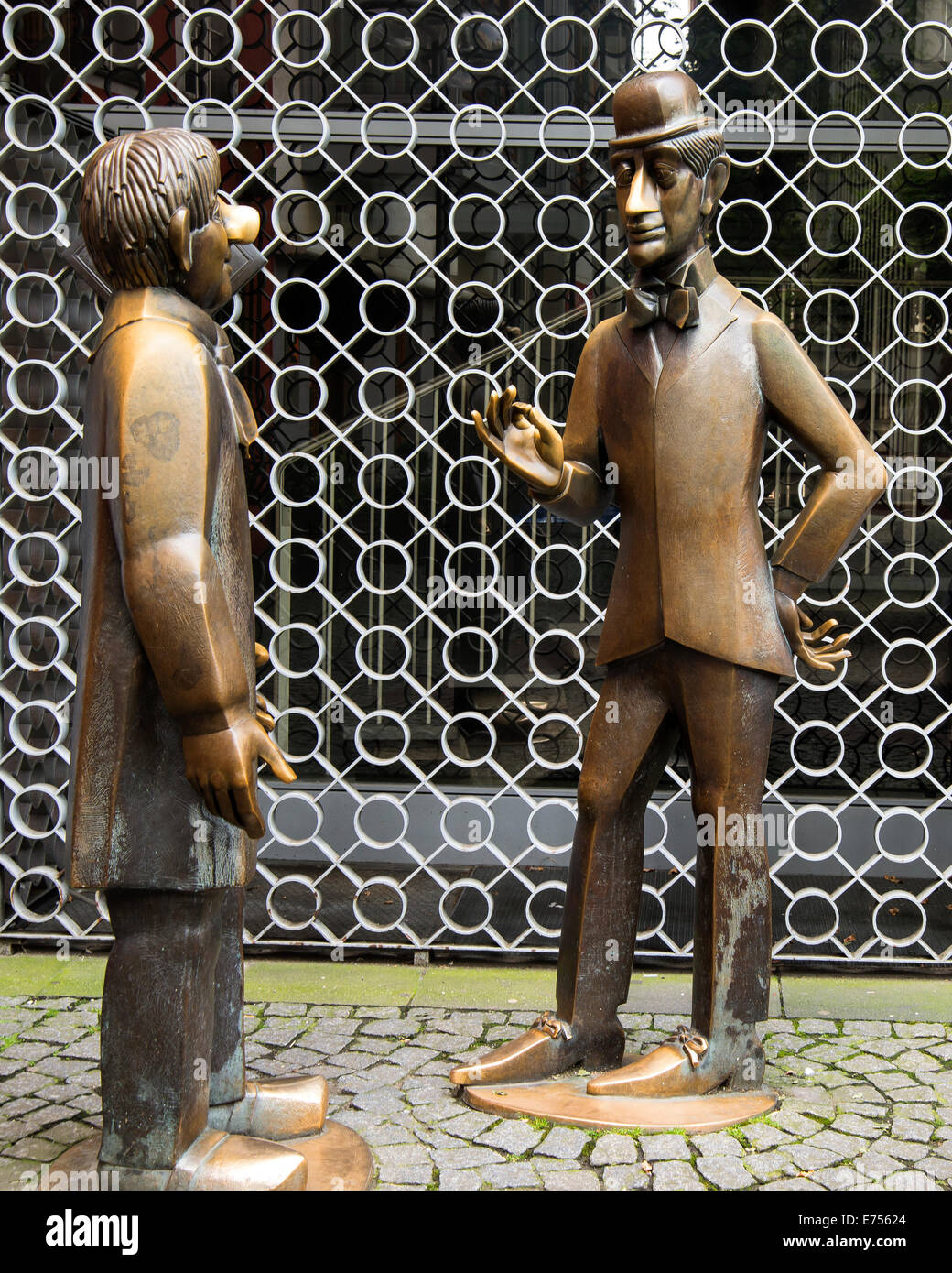 L'original du groupe de sculptures dans la rue, de cologne, Köln, Allemagne, Europe Photo Stock